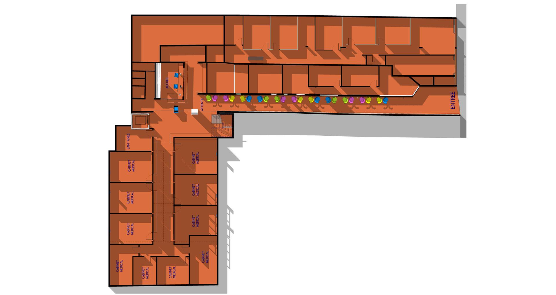 Plan RDC Maison de Santé en Guyane